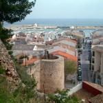01 View of Denia from castle-Costa-Benidorm