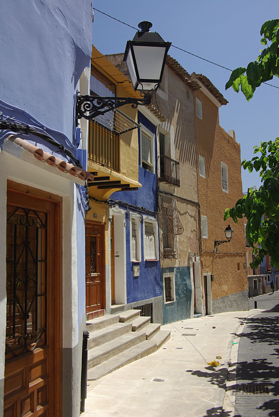 04 Street and old houses-Costa-Benidorm