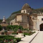 05 Fountain and monatsery gatehouse, Simat-Costa-Benidorm