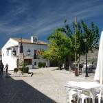 05 Square close to castle at Guagalest-Costa-Benidorm