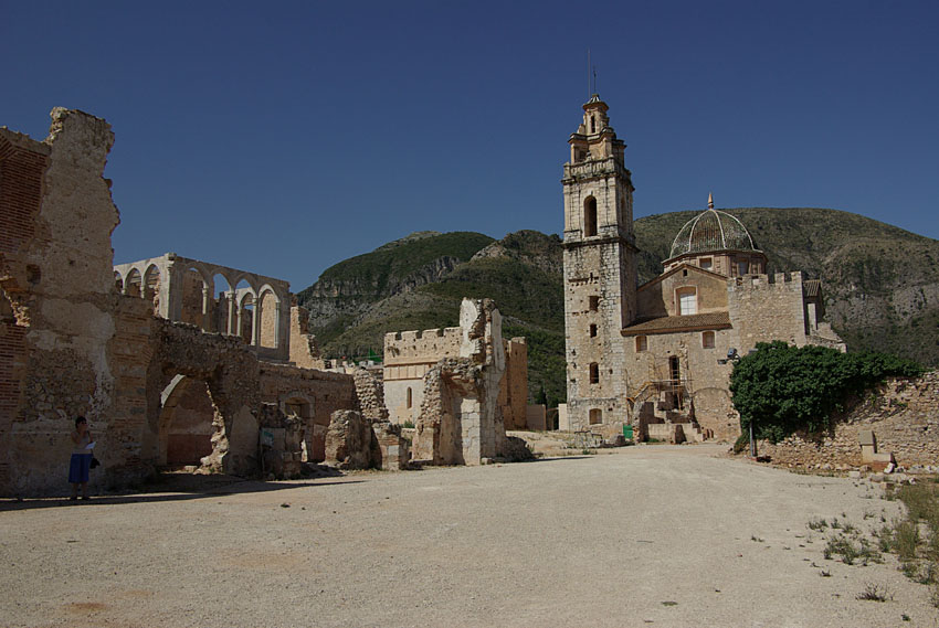 09 Monastery ruins at Simat-Costa-Benidorm