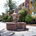 16 A square in old town of Vila Joiosa-Costa-Benidorm