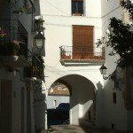 42 Arch on back street-Costa-Benidorm