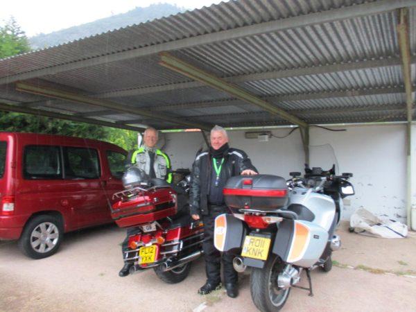 biker freindly accommodation in Spain