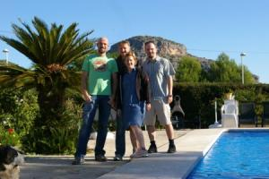 German Hill-walkers take on Costa Blanca Mountains