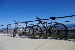Mountain Biking in the Jalon Valley Spain
