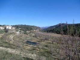 Mountain Biking in the Jalon Valley Spain