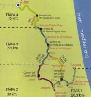 Monastery Route